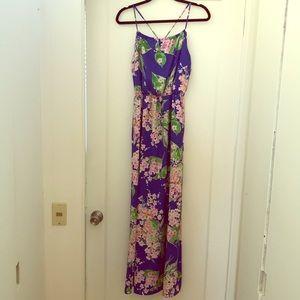 Brigitte Bailey Fleur Blue Flower Dress